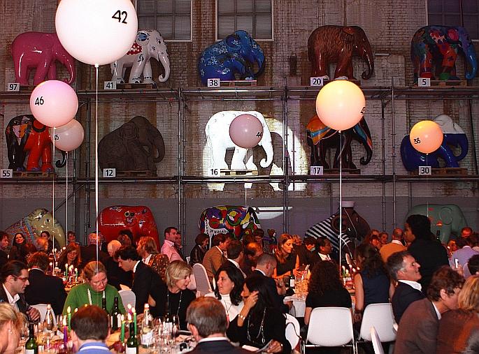 zo dus, en alle tafels ballongenummerd